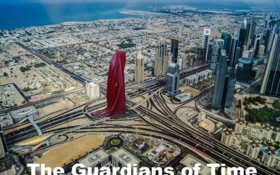 Guardians of Time Art Dubai - e-architect