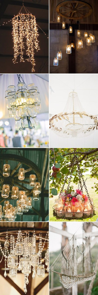 Wedding Decorations: 40 Romantic Ideas to Use Chandeliers ...