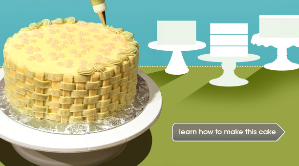 Cake Decorating for Beginners   Epicurious com   Epicurious com Cake Decorating 101  Video Demos and Recipes
