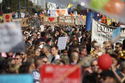 Mit Gewalt und Judenhass gegen Hass und Hetze – Welche