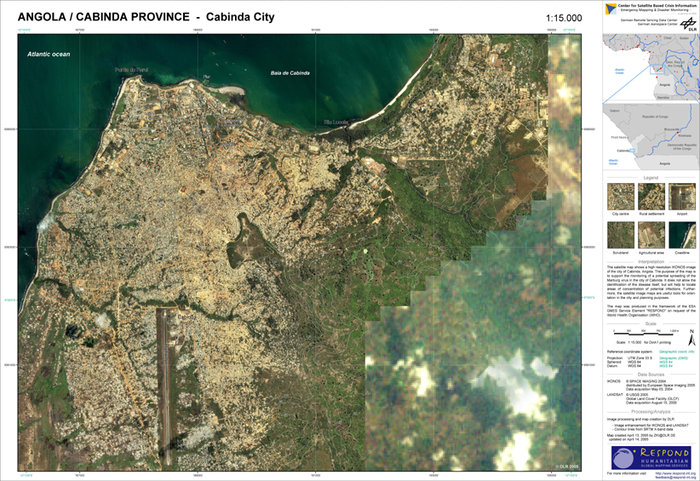 Space in Images   2005   05   Satellite based map of Cabinda Satellite based map of Cabinda