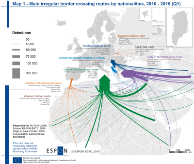 Territorial and urban aspects of migration and refugee inflow | ESPON