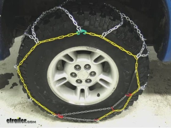 Snow Chain Recommendation for a 2015 Chevy Silverado 1500 with 275     Titan Chain Diamond LT Alloy Snow Tire Chains Review