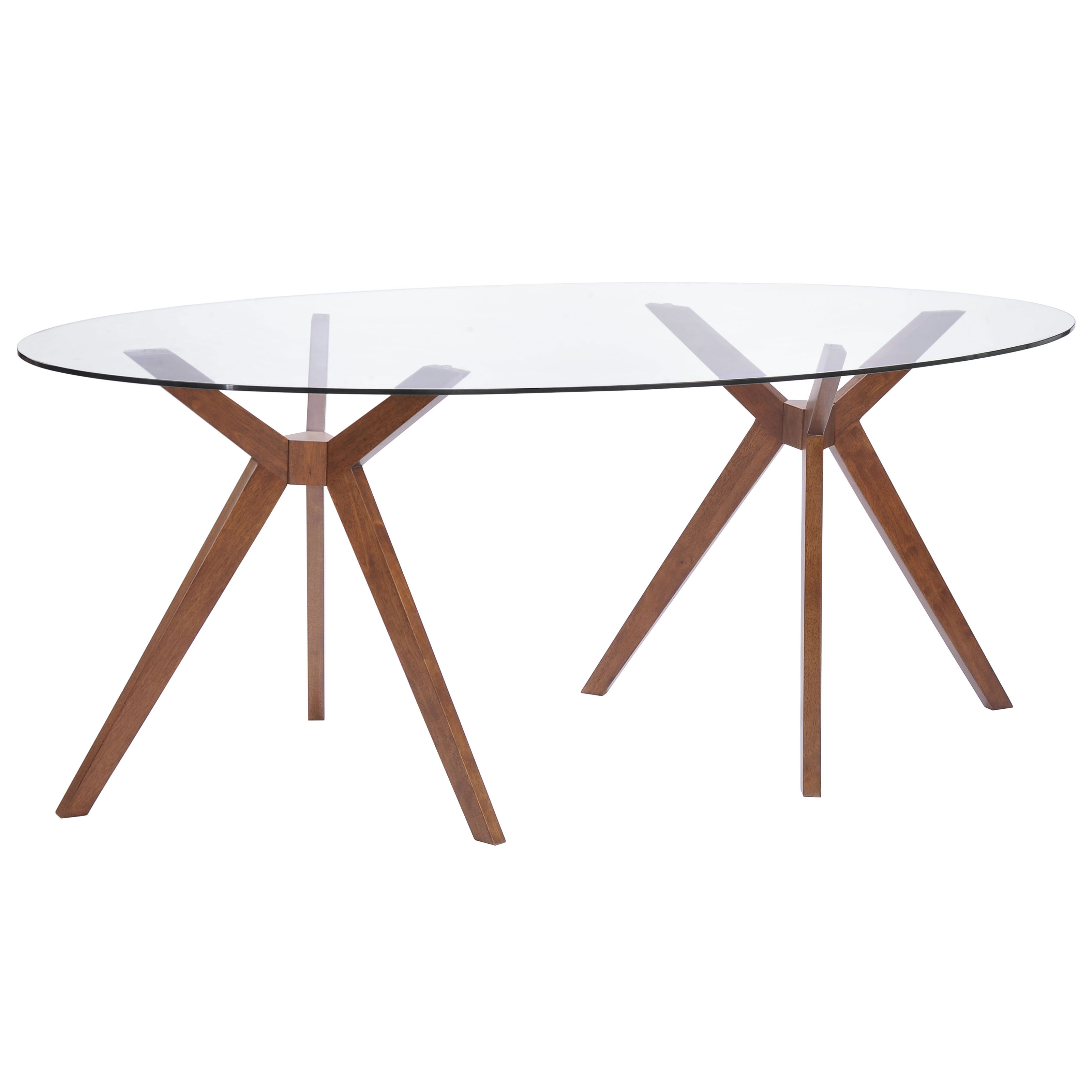 barclay oval dining table oval kitchen table Barclay Modern Oval Dining Table