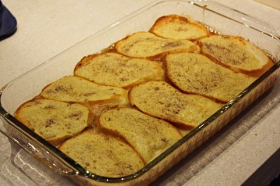 Oven-Baked Caramel French Toast - Everyday Home Cook