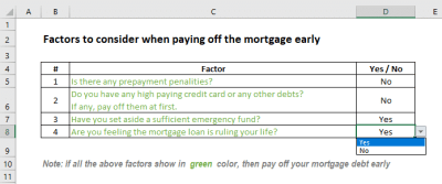 Mortgage Payoff Calculator with Extra Payment (Free Excel Template)