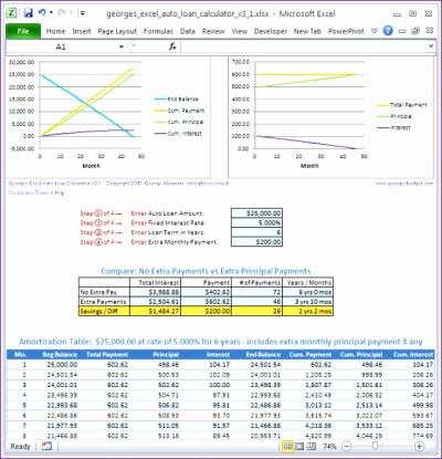 6 Loan Repayment Excel Template - ExcelTemplates - ExcelTemplates