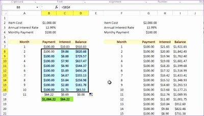 10 Monthly Payment Excel Template - ExcelTemplates - ExcelTemplates