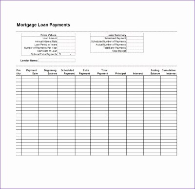10 Student Loan Excel Template - ExcelTemplates - ExcelTemplates