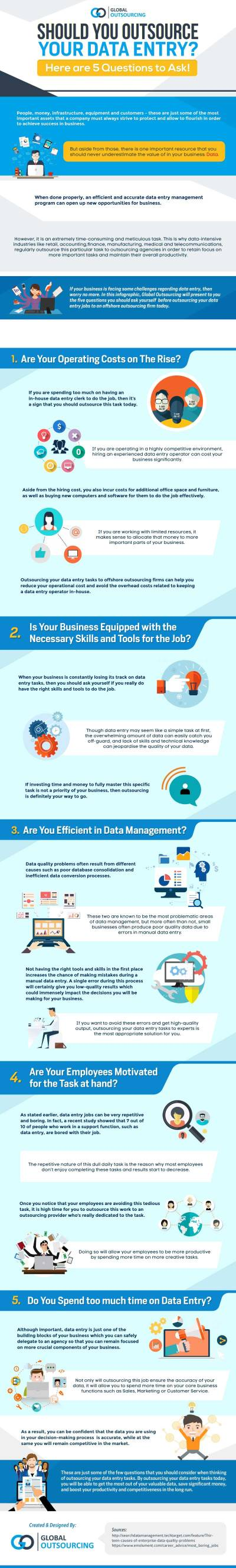 Should You Outsource Your Data Entry? Here Are 5 Questions To Ask! – Infographics - EXEIdeas ...