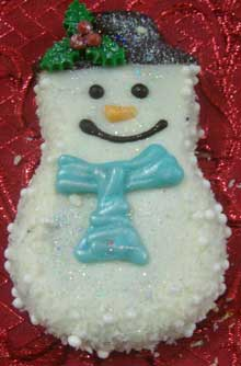 Snowman Cookies Italian Holiday Cookie Decorating Ideas