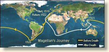 The Death of Magellan  1521
