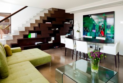 How to Use the Space under Stairs as Storage - Interior Design Ideas