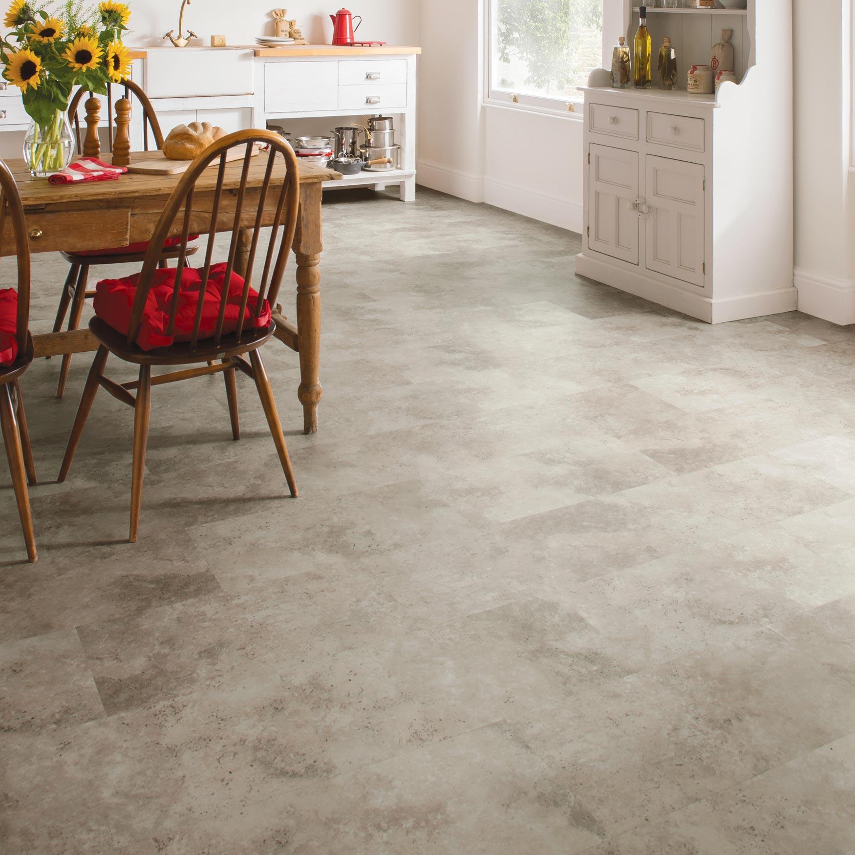 karndean kitchen floor lino Karndean Palio Pienza CT Clic Vinyl Tile