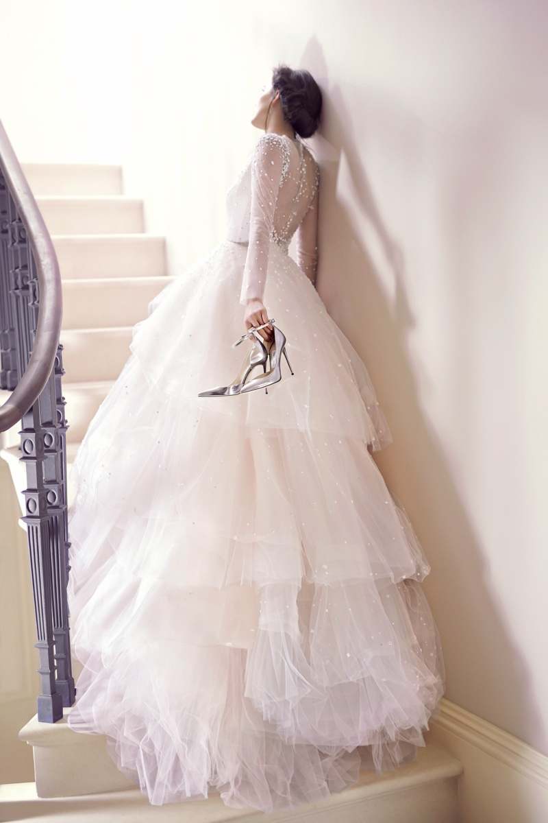 shoe gazing see jimmy choos bridal line jimmy choo wedding shoes Jimmy Choo Lucy Steel Mirror Leather Pointy Toe Pumps