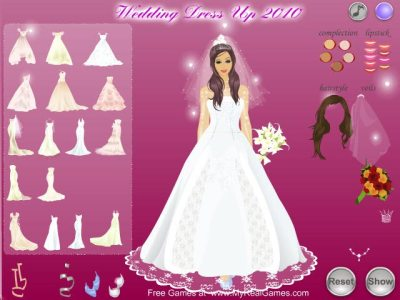 Wedding Dress Up 2010 | Girls Games | FileEagle.com