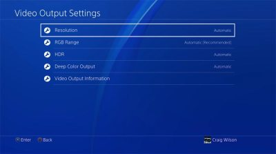 Guide: How to set up 4K & HDR on PS4 Pro (and your TV) - FlatpanelsHD