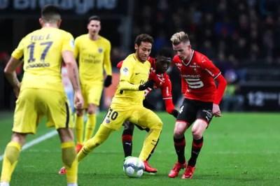 Football Ligue 1 - Rennes - PSG : 1-4 - Foot 01