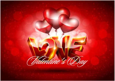 Fancy Valentine background 04 - vector material Download Free Vector,PSD,FLASH,JPG--www ...