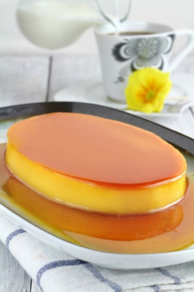 Easy and perfectly smooth Leche Flan