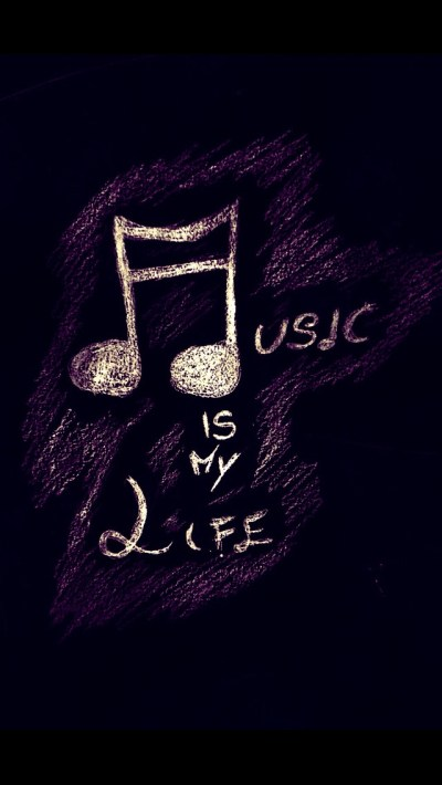Music Is My Love Wallpaper - Free iPhone Wallpapers