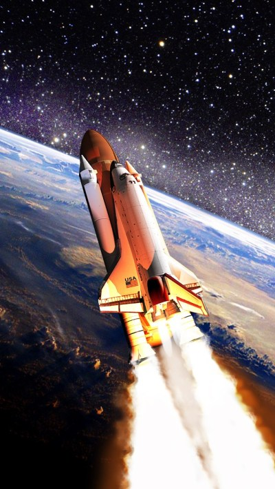 Space Shuttle Wallpaper - Free iPhone Wallpapers