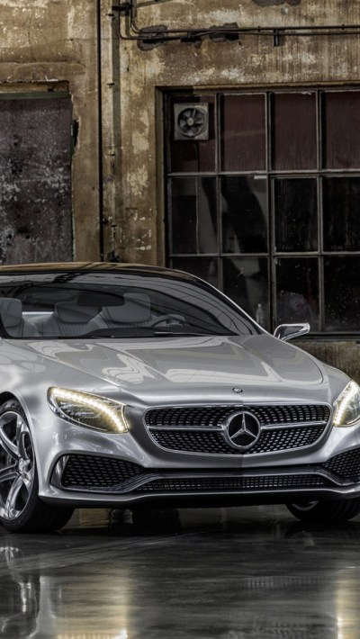 2013 Mercedes Benz S Class Coupe Wallpaper - Free iPhone Wallpapers