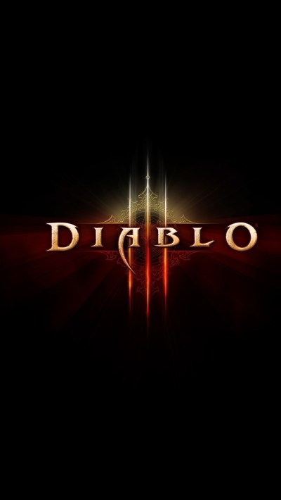 Diablo III Logo Wallpaper - Free iPhone Wallpapers