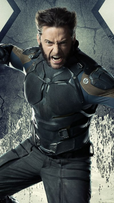 Wolverine In X-Men Days of Future Past iPhone 6 / 6 Plus and iPhone 5/4 Wallpapers