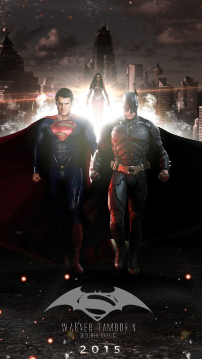 Batman v Superman Dawn of Justice 2016 iPhone 6 / 6 Plus and iPhone 5/4 Wallpapers