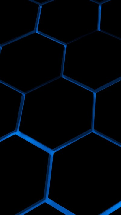 Hexagone 4K iPhone 6 / 6 Plus and iPhone 5/4 Wallpapers