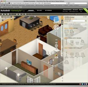 Autodesk Homestyler 3D Software Windows Freeware, Autodesk ...