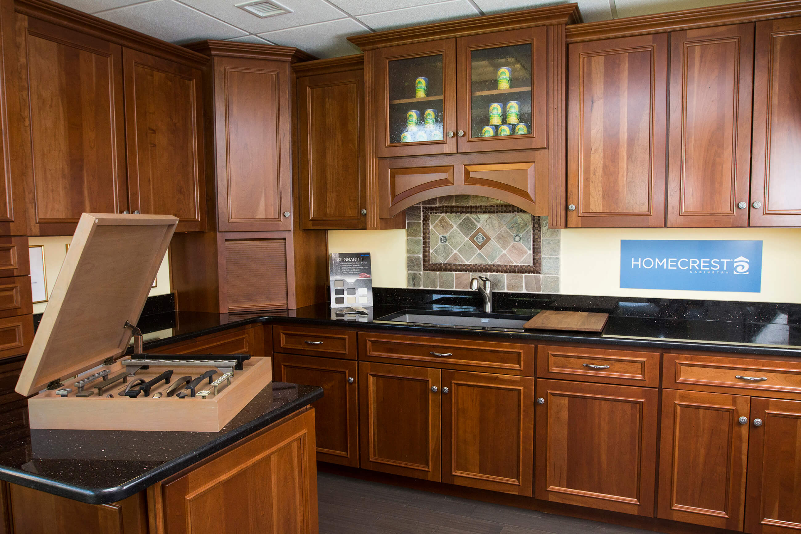 kitchen and bath kitchen and bath design Wooden Cabinetry showroom set px