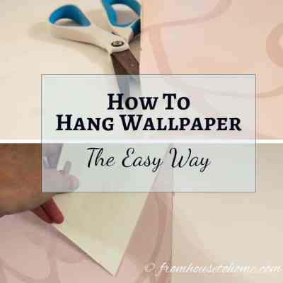 How To Hang Wallpaper The Easy Way
