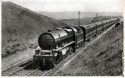 "1.—""Royal Scot"" train, near Shap summit, Engine No. 6134 ..."