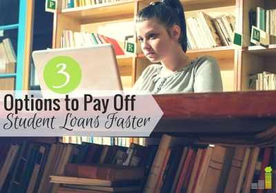 Pay Off Student Loans Faster With These 3 Options - Frugal Rules
