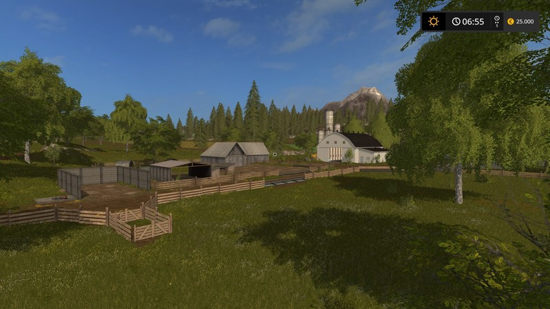Us Valley V 1 0 Map   Farming Simulator 17 mod   FS 2017 mod Us Valley V 1 0 Map