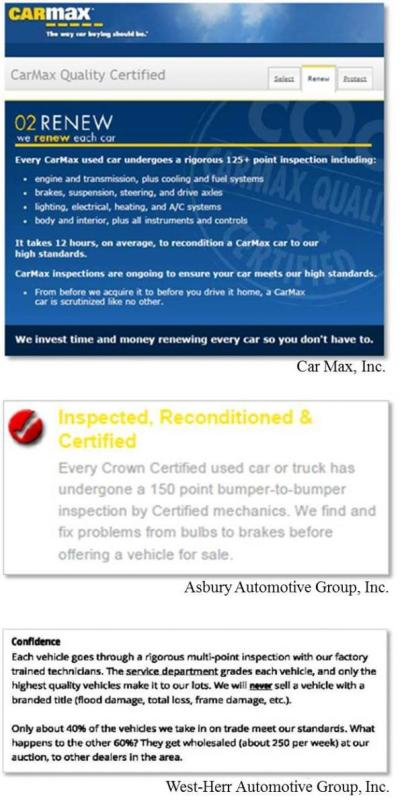 FTC to car dealers: When making inspection claims, recall recalls | Federal Trade Commission