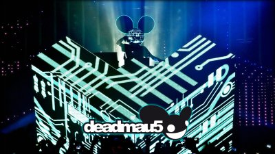Deadmau5 DJ Booth Wallpaper - FunDJStuff.com