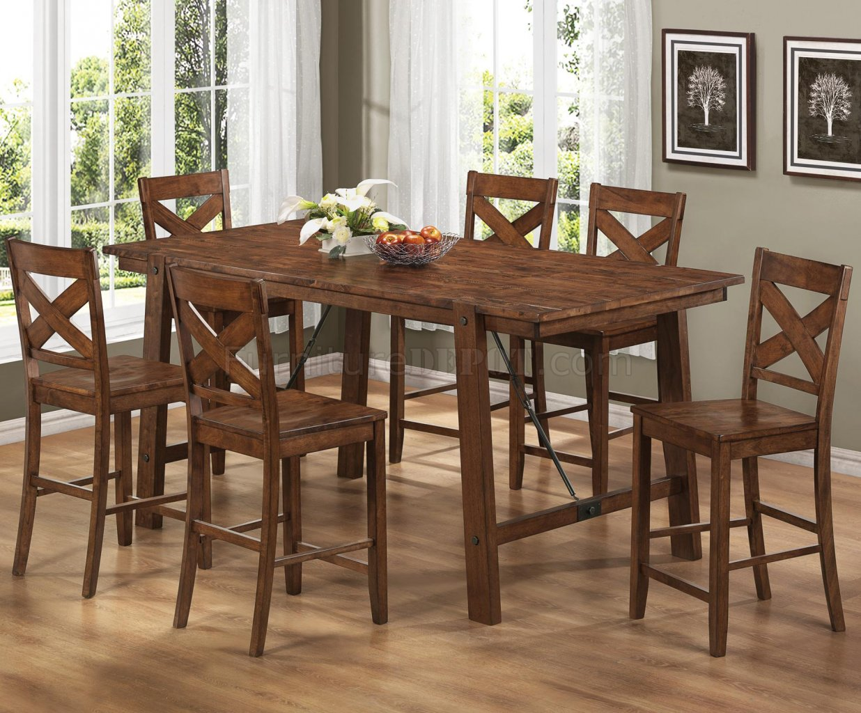 lawson counter height dining table by coaster woptions p high kitchen table sets