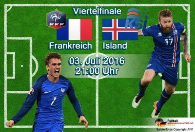 Fußball heute im EM Liveticker ** 5:2 Frankreich - Island live im ZDF & EM Livestream ...