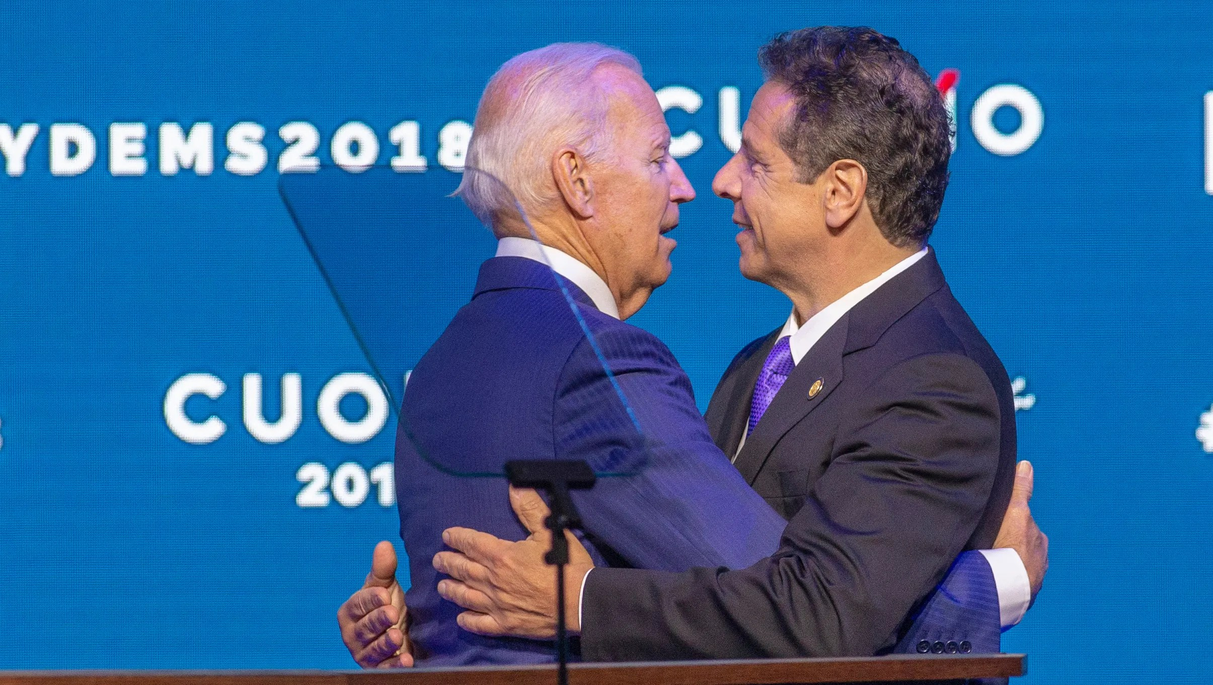 Cuomo touts progressive policies in case for third term at convention