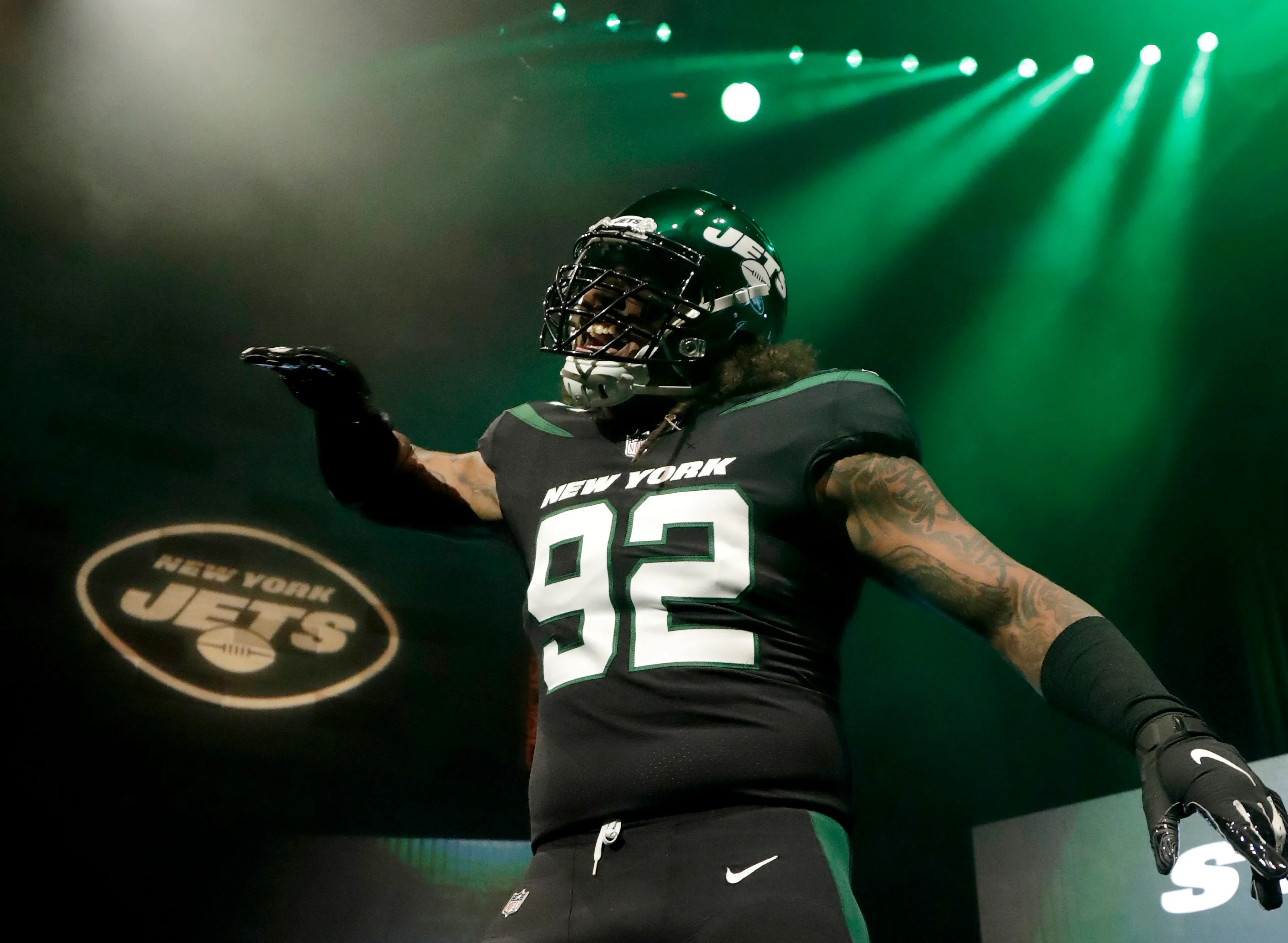 New York Jets unveil new uniforms