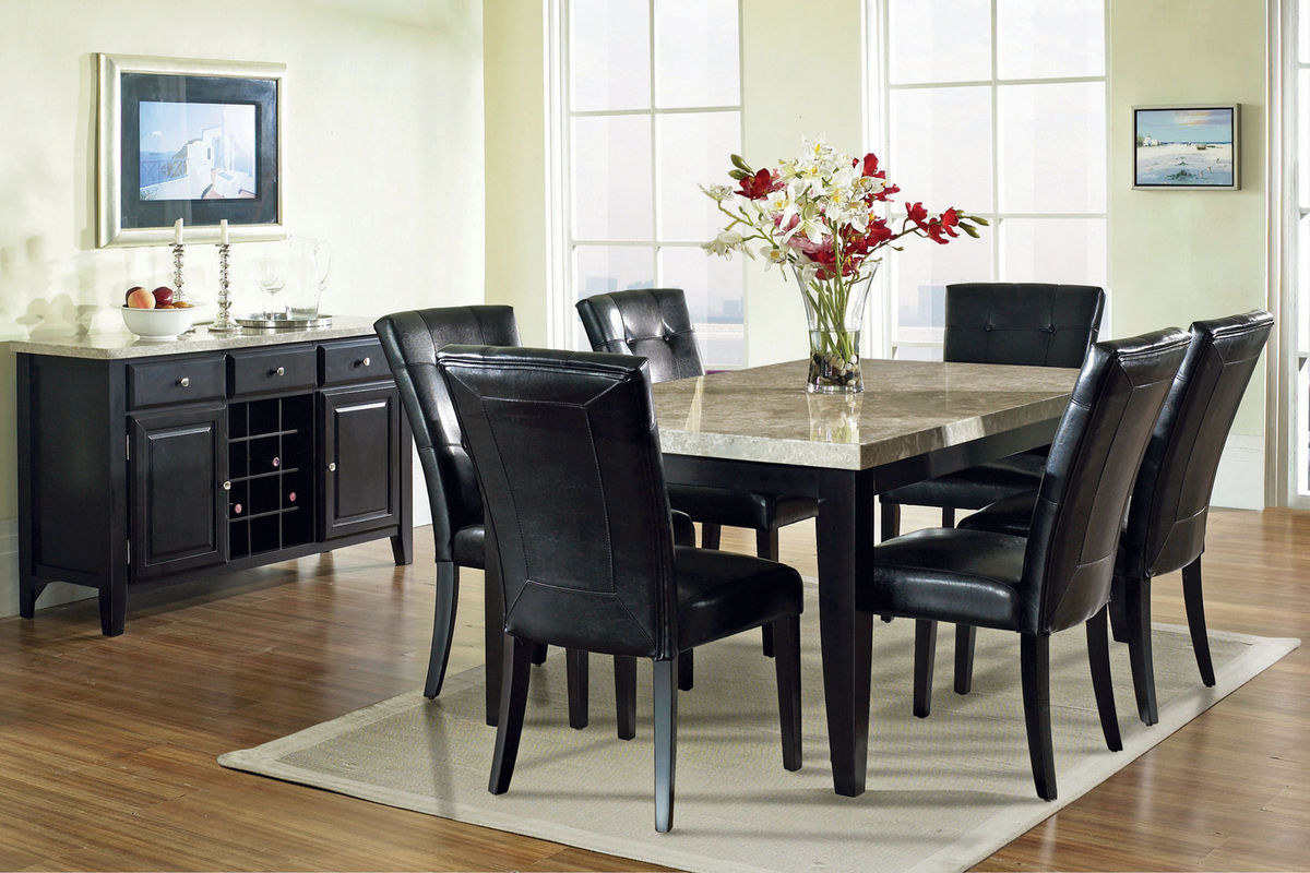 monarch dining table 6 chairs chairs for kitchen table Monarch Dining Table 6 Chairs from Gardner White Furniture