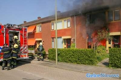 Uitslaande brand verwoest woning Brummen