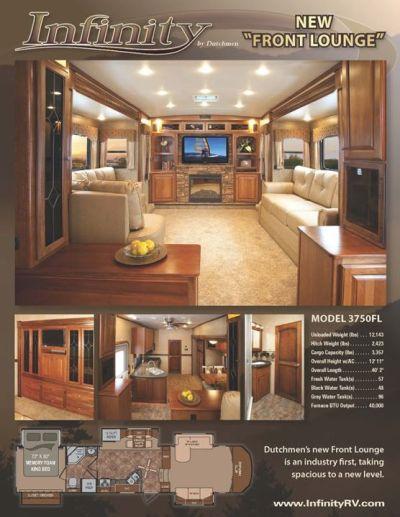 Dutchmen RV Infinity 3750FL | General RV Center