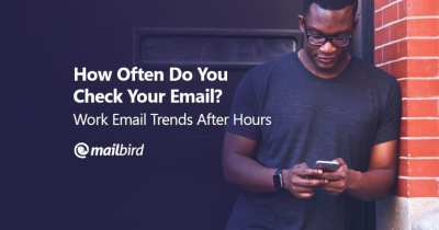 Infographic: Work Email Trends After Hours - Mailbird