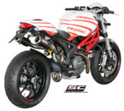 DUCATI MONSTER CRT EXHAUST SYSTEM MOTOGP