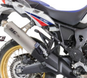 ESCAPE HONDA AFRICA TWIN TITANIUM