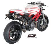SILENCIEUX DUCATI MONSTER SC-PROJECT ECHAPPEMENT